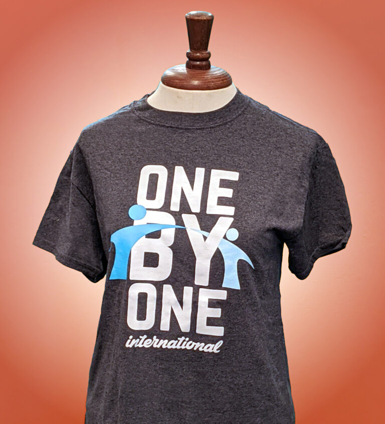 One by One t-shirt